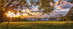 Greenwich Panoramic View, Greenwich Park, London
