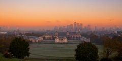 Greenwich Vista Sunrise, Greenwich Park, London